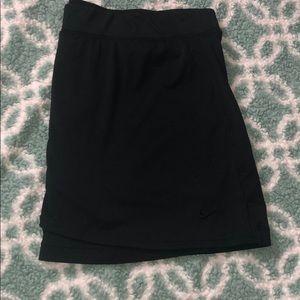 Nike fit dry skirt
